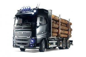 RC Volvo FH16 Globetrotter 750 6×4 Timber Truck – TAMIYA – 56360 – 1:14