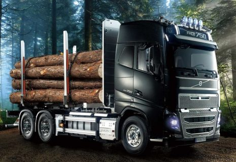 RC Volvo FH16 Globetrotter 750 6×4 Timber Truck – TAMIYA – 56360 – 1:14