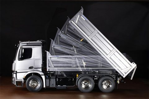RC Mercedes-Benz Arocs 3348 6×4 Tipper Truck – TAMIYA – 56357 – 1:14