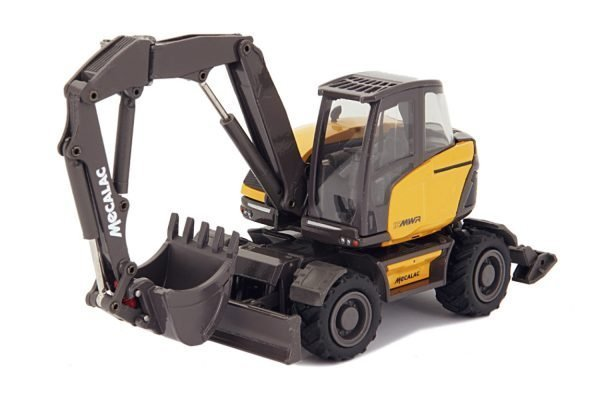 MECALAC 15MWR Wheeled excavator - CONRAD - 2208-0 - 1:50