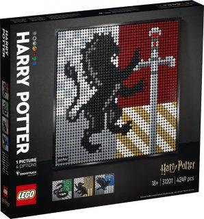 LEGO 31201 LEGO Art – Harry Potter Hogwarts Crests