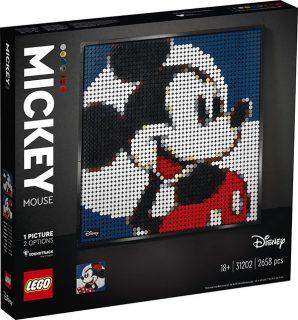 LEGO 31202 LEGO Art – Disney's Mickey Mouse