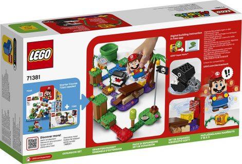LEGO 71381 LEGO Super Mario – Pack di espansione: Incontro nella giungla di Categnaccio