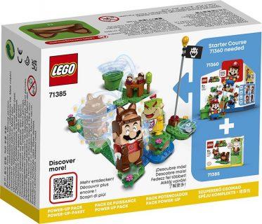 LEGO 71385 LEGO Super Mario – Mario tanuki: Power Up Pack