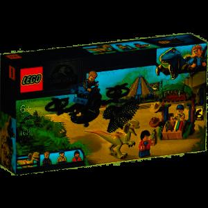 Lego 75934 – Jurassic World Dilofosauro in fuga