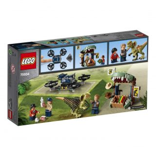 Lego 75934 – Jurassic World Dilofosauro in fuga