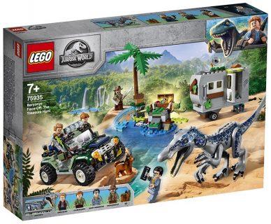 LEGO 75935 LEGO Jurassic World – Faccia a faccia con il Baryonyx: caccia al tesoro
