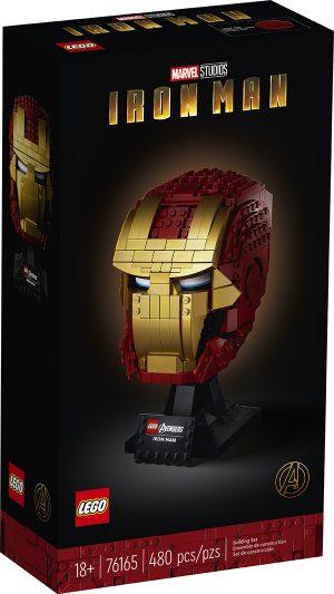 LEGO 76165 Super Heroes Marvel Avengers – Casco di Iron Man
