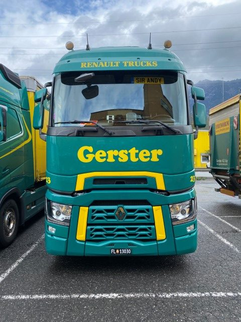 * PREORDINE - Q1 - 2021 * - Gerster Transporte - TEKNO - 81574 - 1:50