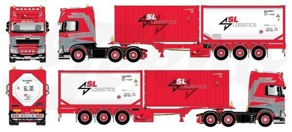 * PREORDINE - Q1 - 2022 * - SL Logistics - 81829 - TEKNO - 1:50