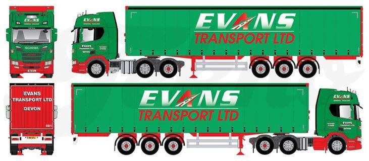 * PREVENDITA – Q4-2021 * – Evans Transport – TEKNO – 81838 – 1:50