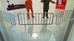 Transenne per Diorami 1/50 Metallo Made in Italy – 3 pezzi – Sirm Scale Models
