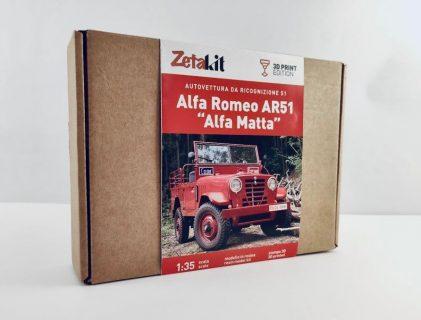"""Alfa Romeo AR51 """"Matta"""" scala 1:35 – Zetakit"""