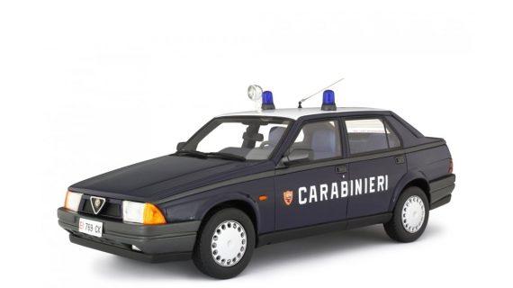 ALFA ROMEO ALFA 75 1.8 IE 1988 CARABINIERI – LAUDORACING – LM123B1-PO – 1:18