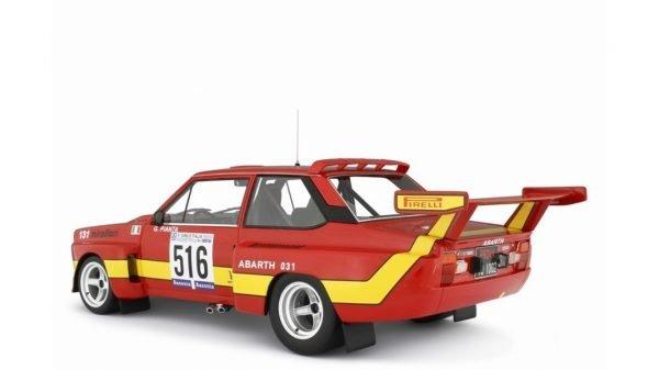 FIAT ABARTH 031 BERTONE START GIRO D'ITALIA 1975 TORINO - LAUDORACING - LM135B - 1:18