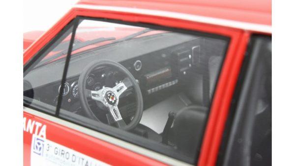 FIAT ABARTH 031 BERTONE START GIRO D'ITALIA 1975 TORINO - LAUDORACING - LM135C - 1:18