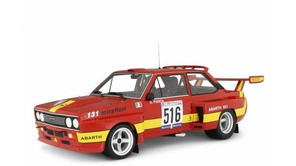 FIAT ABARTH 031 BERTONE START GIRO D'ITALIA 1975 TORINO - LAUDORACING - LM135A - 1:18