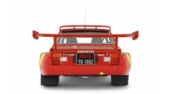 * PREORDINE – AGOSTO/2021 * FIAT ABARTH 031 BERTONE START GIRO D'ITALIA 1975 TORINO – LAUDORACING – LM135A – 1:18