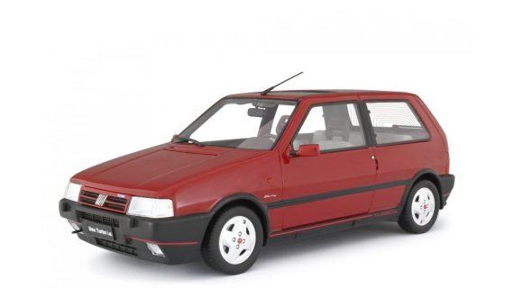 * PREORDINE – GIUGNO/2021 * – FIAT UNO TURBO 2° SERIE MK2 RACING – 1992 – LM104E – ROSSO