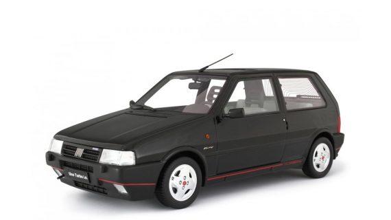 * PREORDINE – GIUGNO/2021 * – FIAT UNO TURBO 2° SERIE MK2 RACING – 1992 – LM104H – NERO