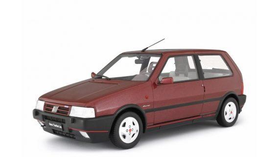 * PREORDINE – GIUGNO/2021 * – FIAT UNO TURBO 2° SERIE MK2 RACING – 1992 – LM104G – ROSSO METALLIZZATO