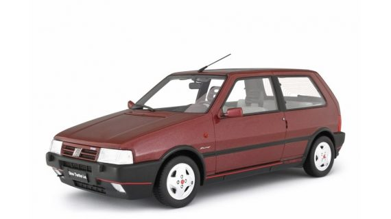 FIAT UNO TURBO 2° SERIE MK2 RACING – 1992 – Laudoracing – LM104G – ROSSO METALLIZZATO