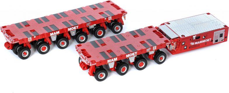 Modell Mammoet SPMT 6 + 4 + PPU – IMC – 410098 – 1:50