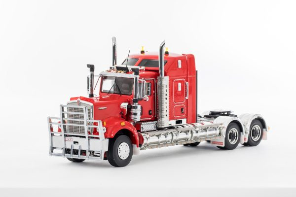 Red; KENWORTH C509 SLEEPER - DRAKE - Z01497 - 1:50