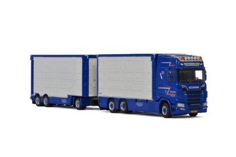Van Beek; SCANIA S HIGHLINE | CS20H RESIN COMBI – 6 AXLE – WSI – 01-3078 – 1:50