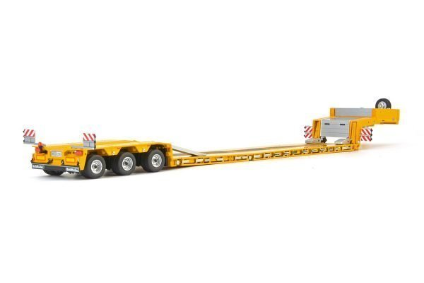 Yellow Serie Goldhofer low loader 3 axle - IMC - 33-0052 - 1:50