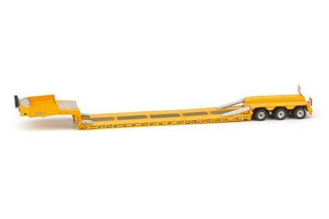 Yellow Serie Goldhofer low loader 3 axle – IMC – 33-0052 – 1:50