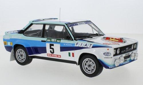 FIAT - 131 ABARTH TEAM FIAT WORKS (night version) N 5 WINNER RALLY PORTUGAL 1980 W.ROHRL - C.GEISTDORFER - IXO-MODELS - 1:18