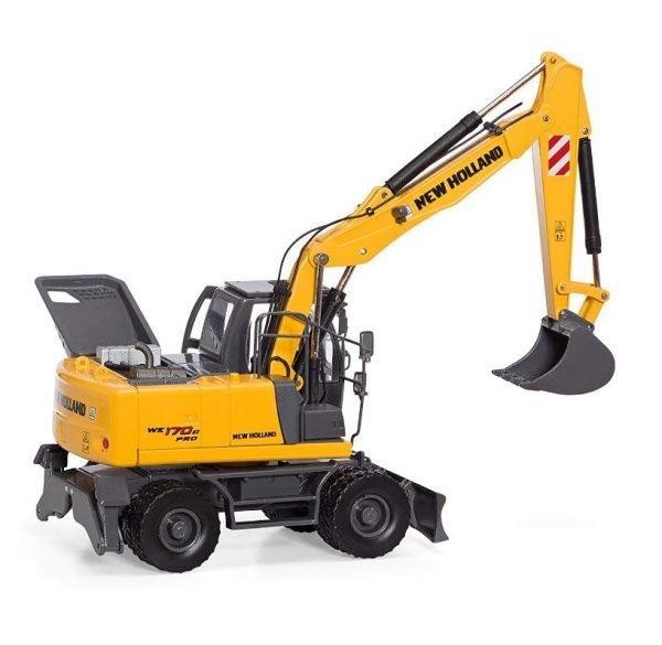 Escavatore gommato NEW HOLLAND WE170B Pro - MOTORART - 13787 - 1:50