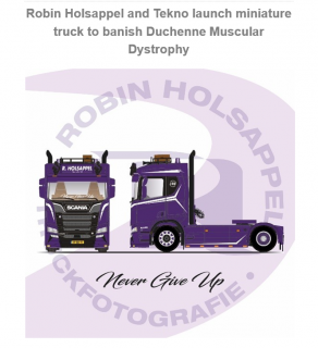 *PREORDINE* Robin Holsappel – Duchenne – Scania – Tekno – 82086
