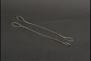 Wire rope set / 2 piece 1.0mm x 16cm – YCC – YC360-2 – 1:50