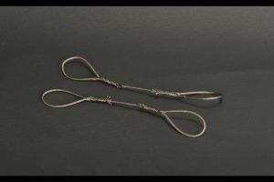 Wire rope set / 2 piece 1.5mm x 16cm – YCC – YC362-1 – 1:50