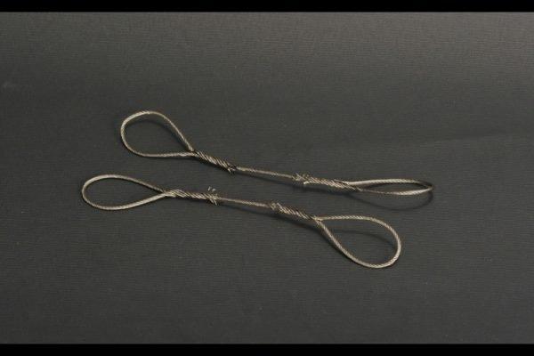 Wire rope set / 2 piece 1.5mm x 16cm - YCC - YC362-1 - 1:50