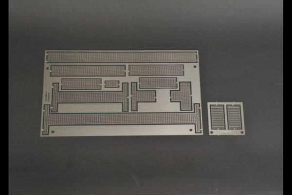 Etch piece of walkways for LIEBHERR LR 1600/2-No Paint - YCC - YC660 - 1:50