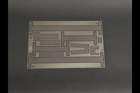 Etch piece of walkways for LIEBHERR LR 1600/2-No Paint – YCC – YC660 – 1:50