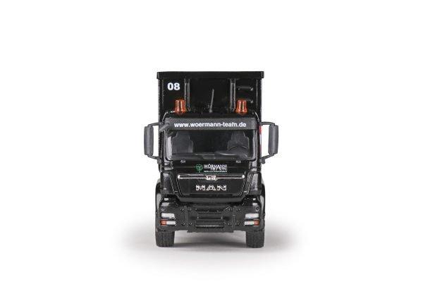 MAN TGS 3-achs Euro 5 mit Recycling-Mulde und 4-achs Goldhofer Tiefladeanhänger
