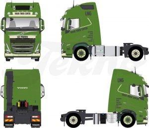 VTC volvo truck center – TEKNO – 77037 – 1:50