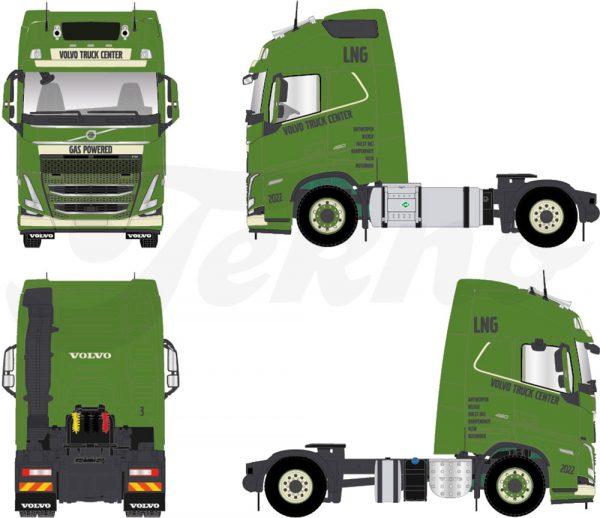 VTC volvo truck center - TEKNO - 77037 - 1:50