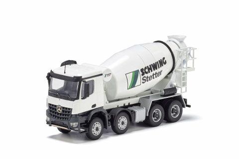 STETTER truck mixer on MERCEDES-BENZ Arocs – CONRAD – 78131/01 – 1:50