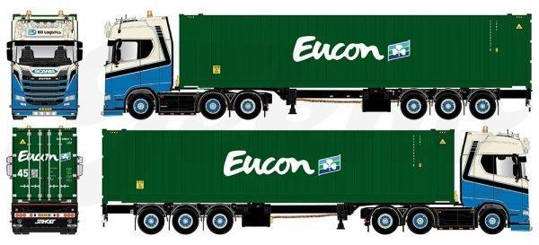 * PREORDINE - Q4-2021 * - Dijkstra, Bas Logistics - TEKNO - 81866 - 1:50