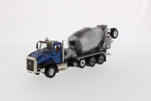 Cat CT660 Day Cab Tractor with Metal Concrete Mixer – DIECAST MASTERS – 85664C – 1:50