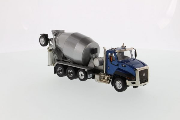 Cat CT660 Day Cab Tractor with Metal Concrete Mixer - DIECAST MASTERS - 85664C - 1:50