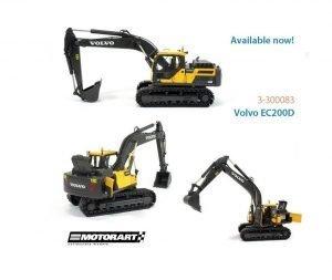 VOLVO EC200D escavatore cingolato – MOTORART – 300083 – 1:50