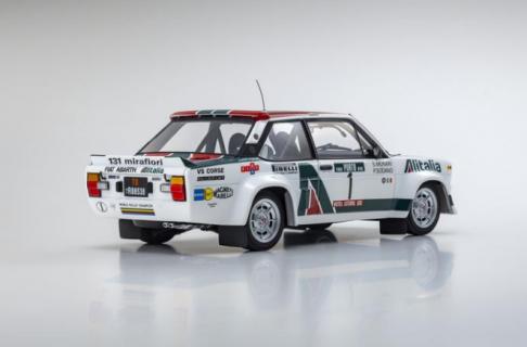 KYOSHO – FIAT – 131 ABARTH ALITALIA N 1 RALLY PORTUGAL 1978 S.MUNARI – P.SODANO