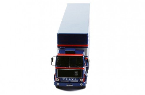 VOLVO - F88 TRUCK TEAM ESSEX LOTUS F1 CAR TRANSPORTER 1981 - IXO-MODELS - TTR021 - 1:43