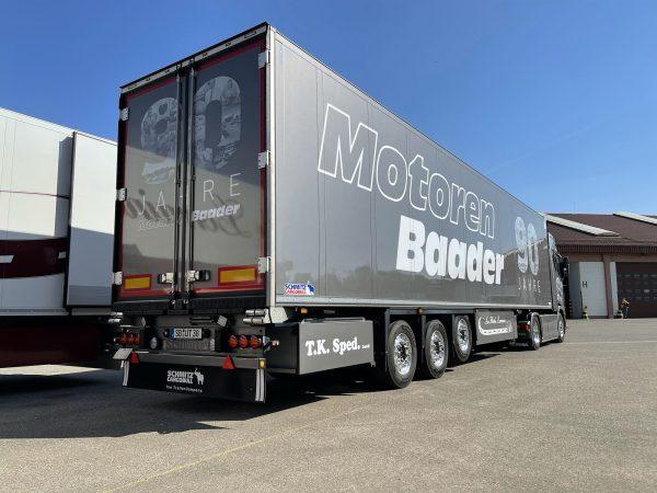 Motoren Baader Gmbh; SCANIA S HIGHLINE I CS20H 4X2 REEFER TRAILER - 3 AXLE
